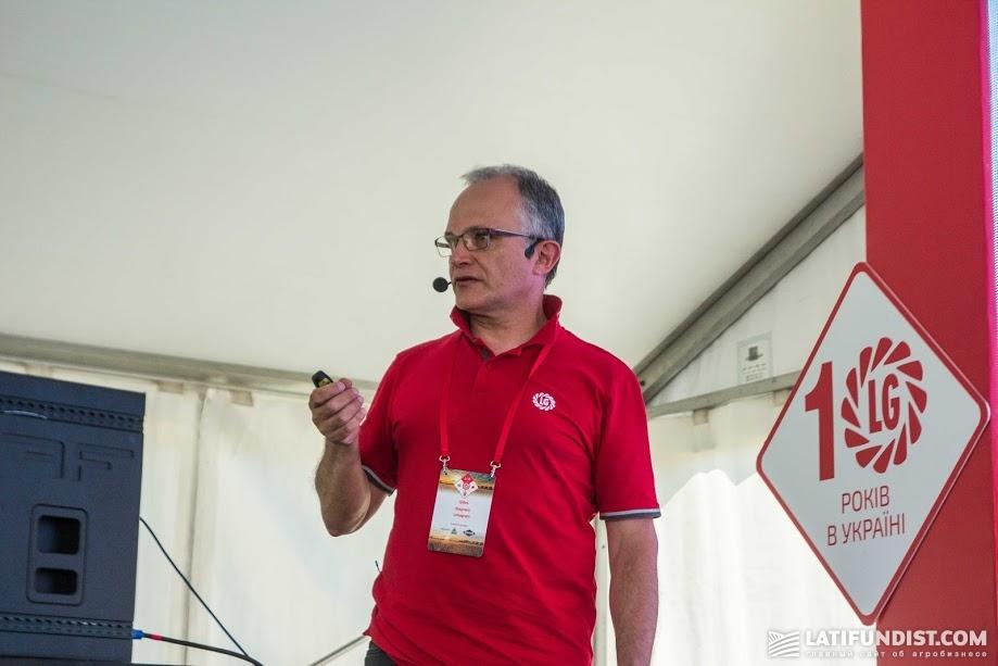 Жиль Стагнаро, менеджер по развитию зерновых в Европе