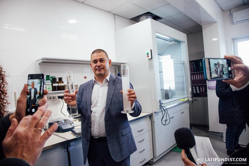 Александр Юрчак, руководитель очистительных сооружений