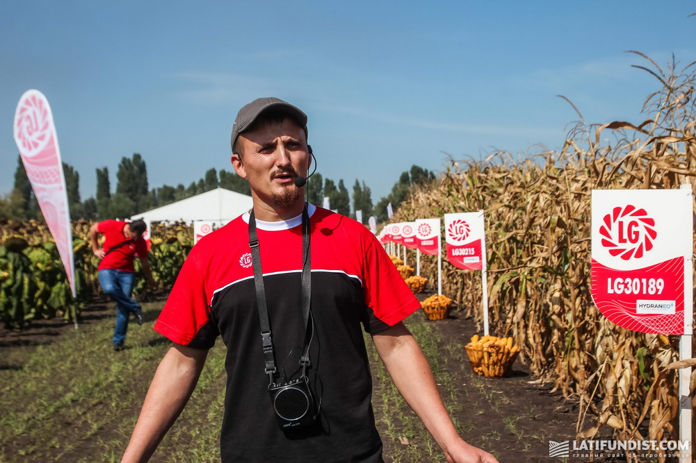 Владимир Гвоздь, менеджер по региональному развитию «Лимагрейн Украина» в Черкасской обл.