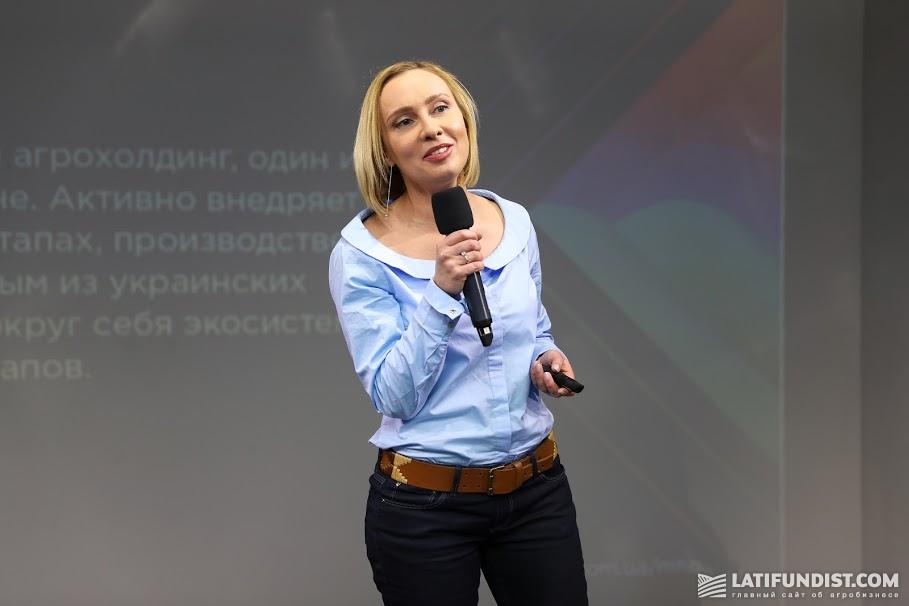 Катерина Корченко, руководитель отдела внутренних и внешних коммуникаций агрохолдинга МХП