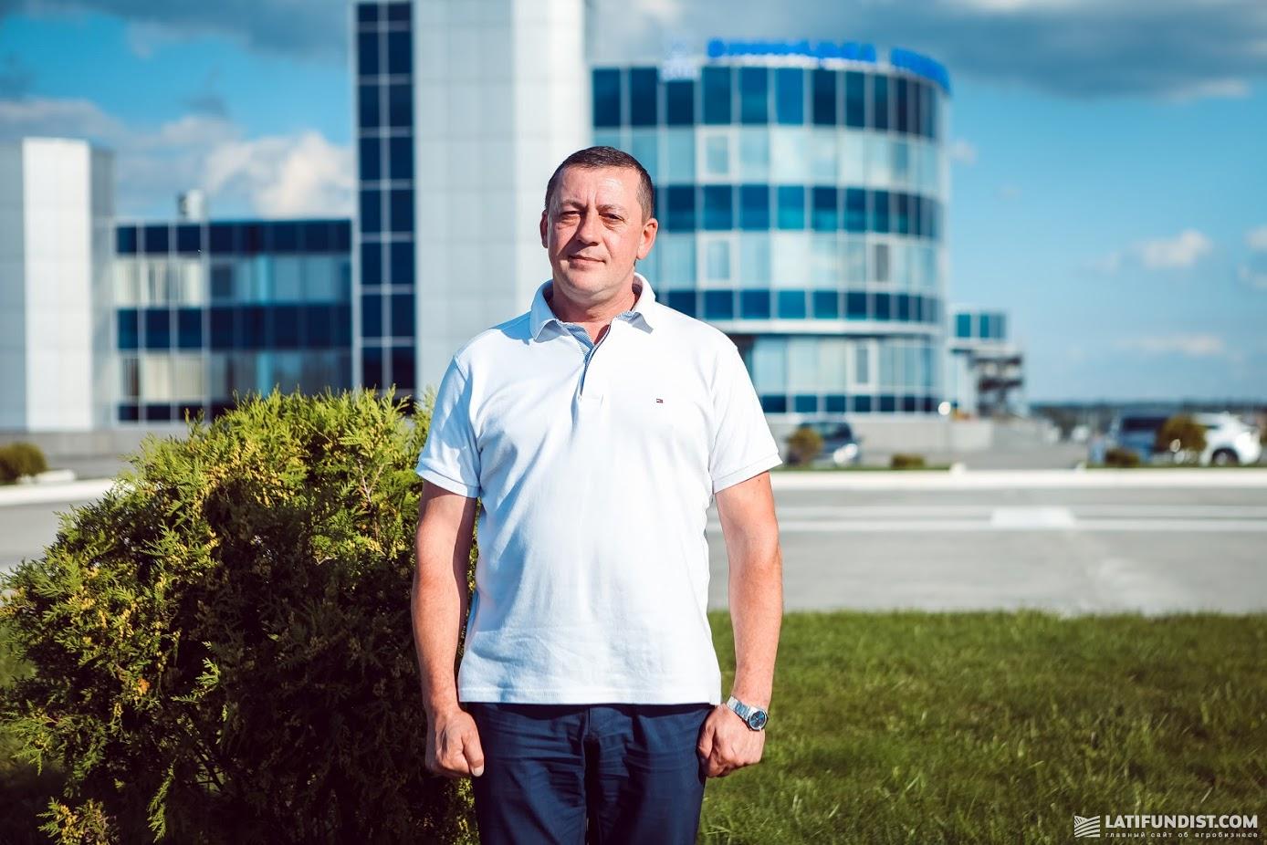 Петр Андриец, заместитель директора по социальной работе ОП «Винницкий бройлер» ПАО «МХП»