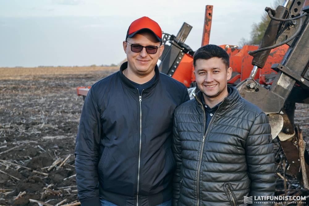 Павел Нестеренко и Сергей Ярошенко