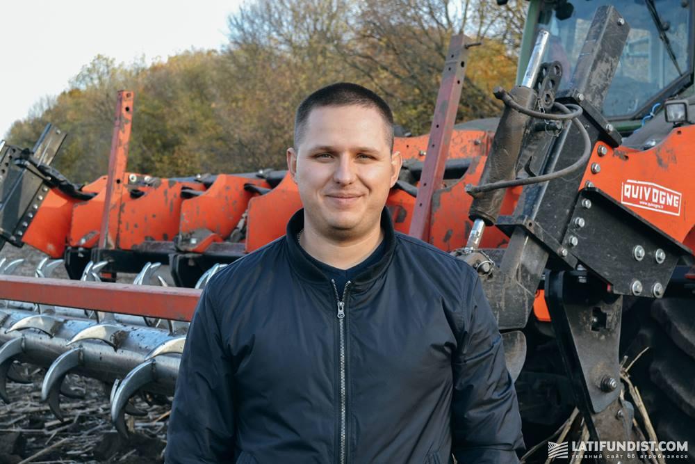 Павел Нестеренко, руководитель группы сервиса систем контроля и систем точного земледелия МХП