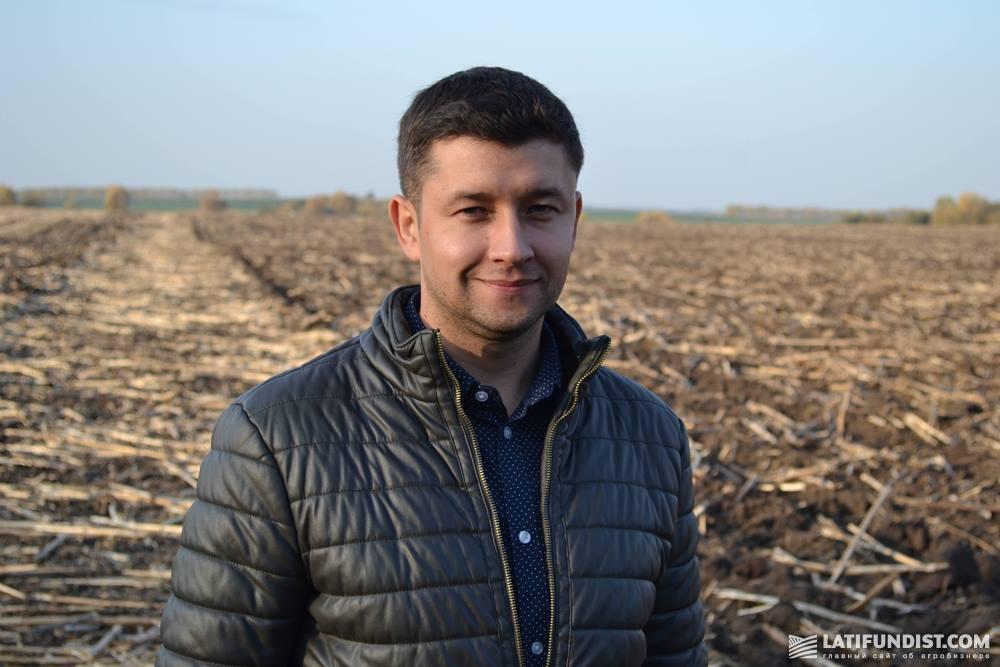Сергей Ярошенко, ведущий инженер группы сервиса систем контроля и систем точного земледелия предприятия «Урожайная страна»