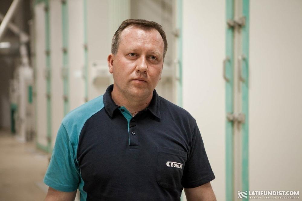 Андрей Шаран, руководитель мукомольного и крупяного направления компании Bühler