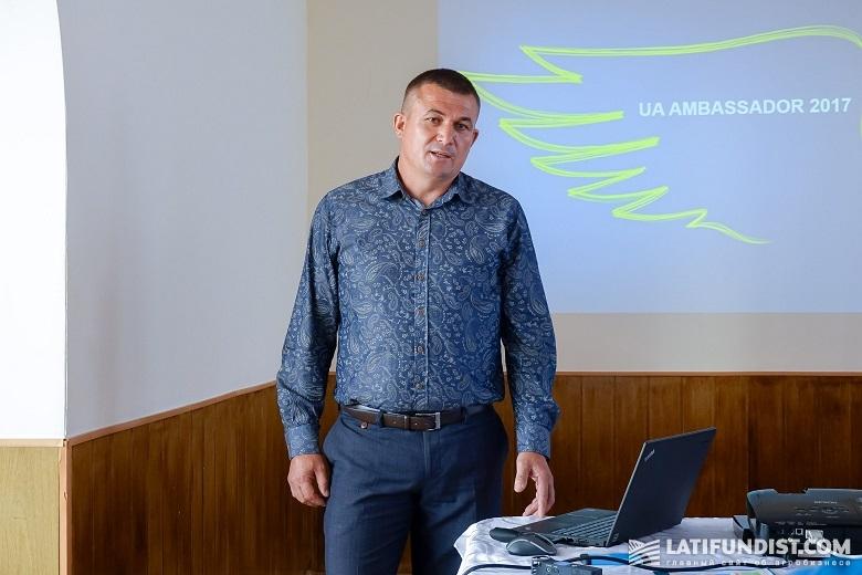 Анатолий Березовский, директор предприятия «Новоселица»