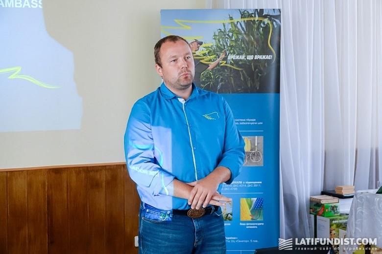 Константин Новиков, маркетинг-менеджер Monsanto