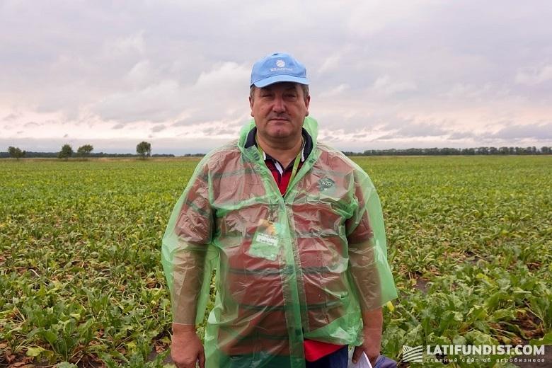 Михаил Нечипорук, ведущий агроном по сахарной свекле ПК «Подолье»