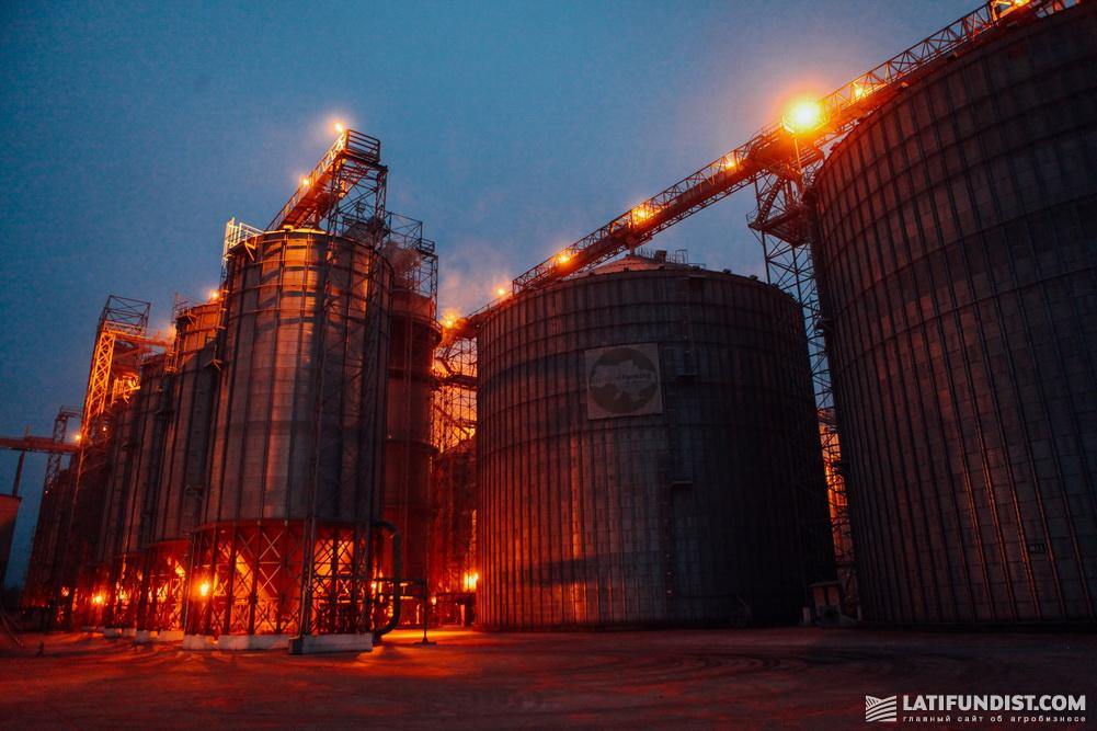 Элеватор компании Ukrlandfarming
