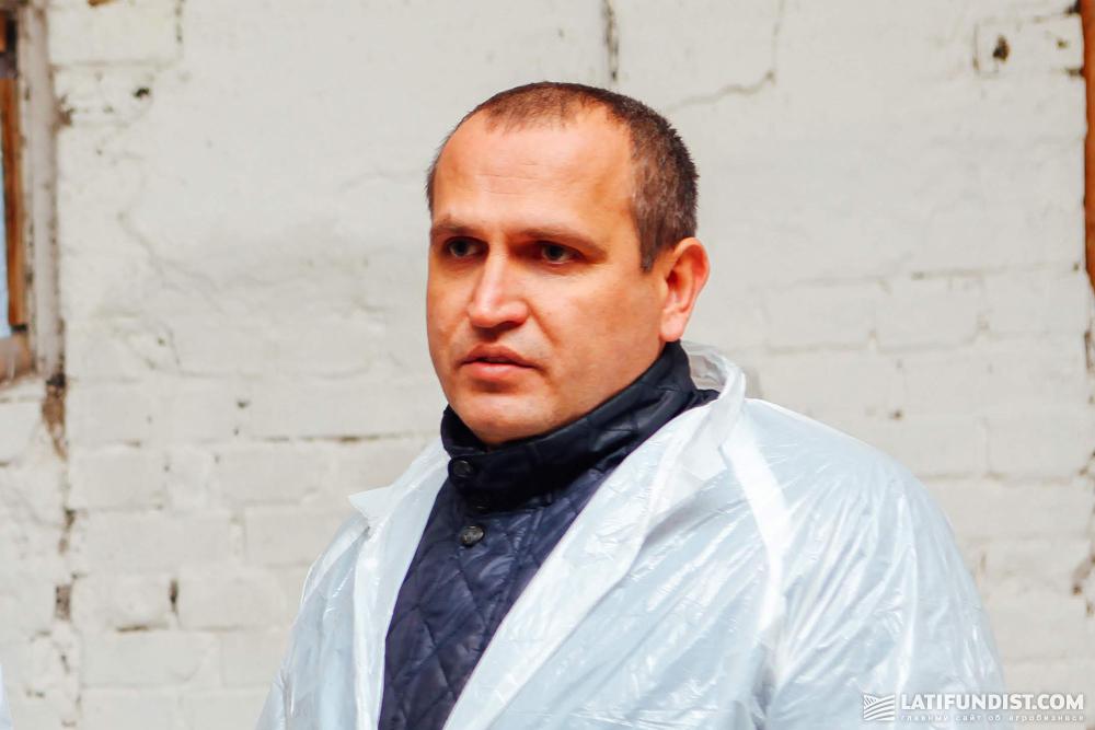 Игорь Еремейчук, директор предприятия «Бурынское»