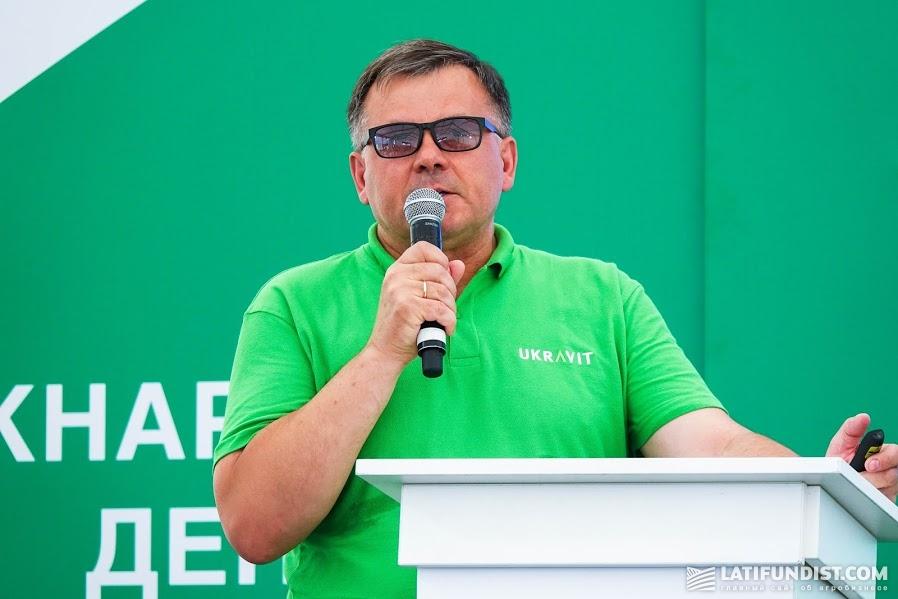 Сергей Адаменко, руководитель отдела развития и сервисов микроудобрений группы компаний UKRAVIT