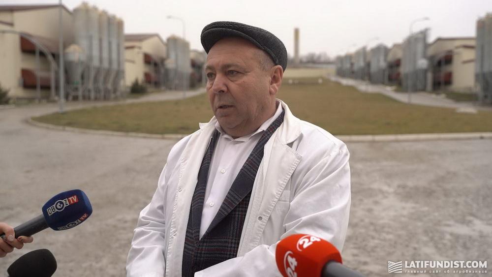 Николай Лактионов, директор птицекомплекса «Авис»