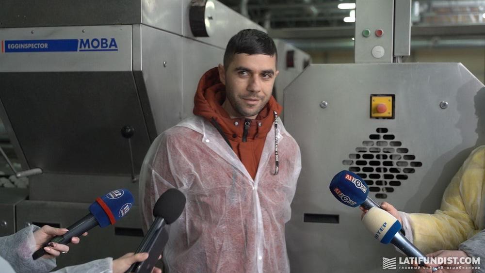 Акоп Акопян, менеджер предприятия «Авис»