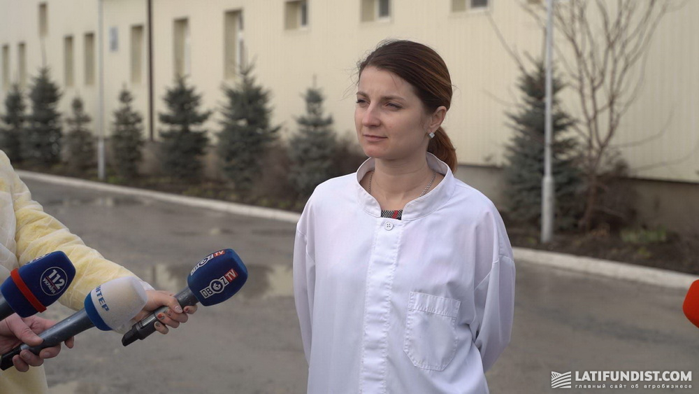 Наталья Ткачук, главный ветеринарный врач предприятия «Авис»