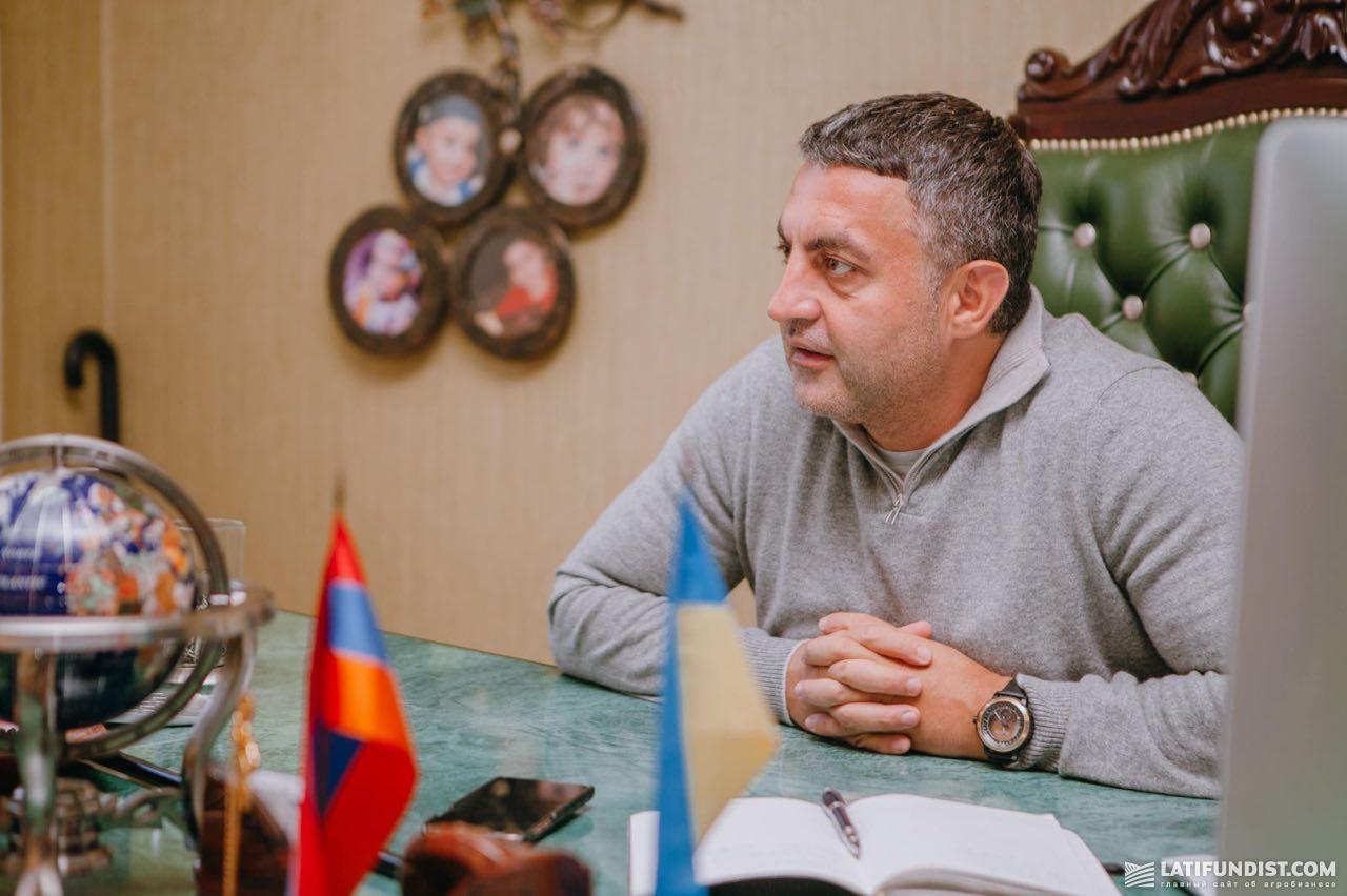 Рафаэль Гороян, руководитель ГК «Прометей»
