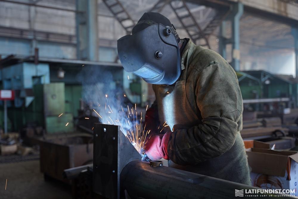 Процесс производства дождевальной техники на заводе «Фрегат»