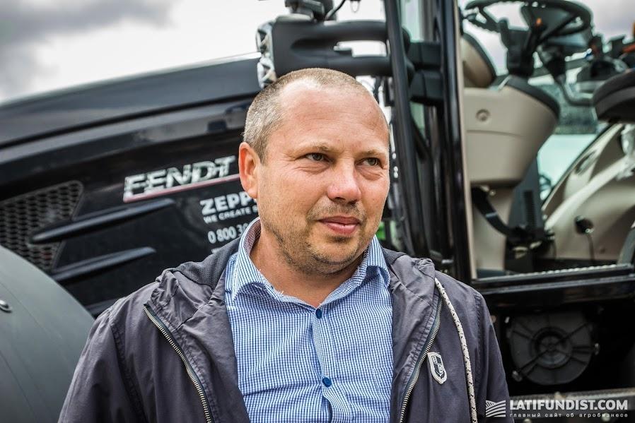 Александр Недоснованый, владелец и директор фермерского хозяйства «Адапт»