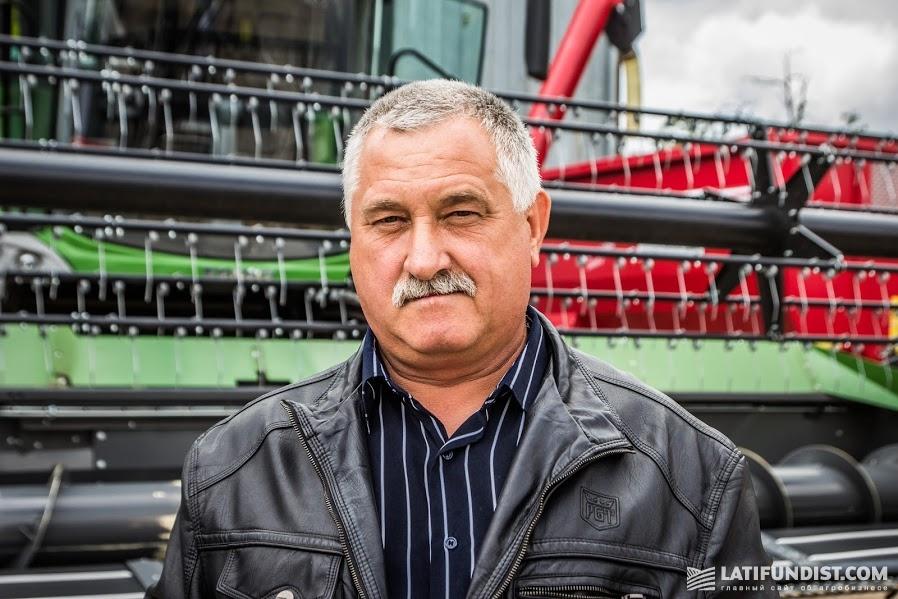 Иван Вакула, механизатор агропредприятия «Сервиг»