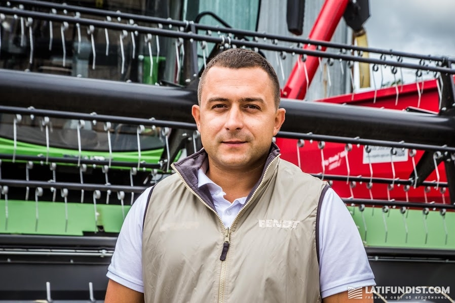 Виталий Бут, региональный торговый представитель «Цеппелин Украина» в Одесской области