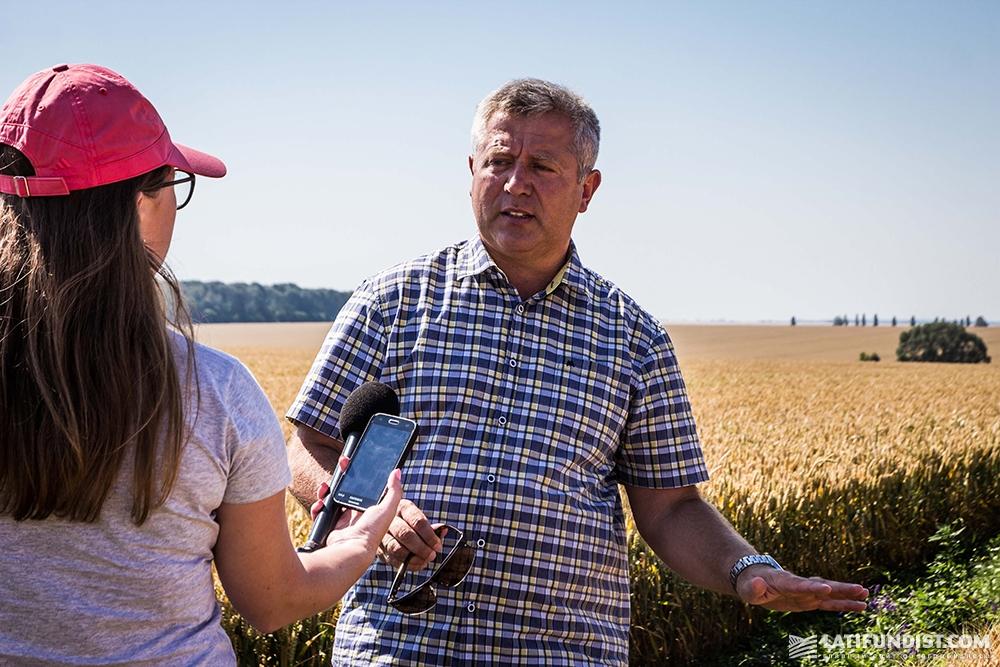 Зигмунд Лампка прогнозирует, что урожайность пшеницы должна достичь 9 т/га