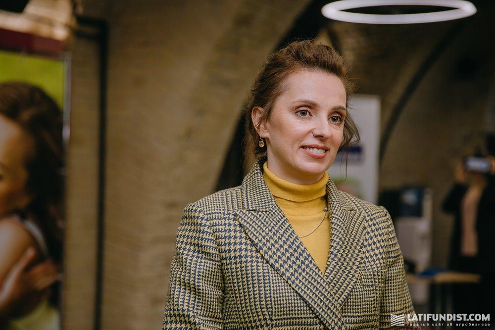 Марина Сергиенко, директор Департамента маркетинга МХП