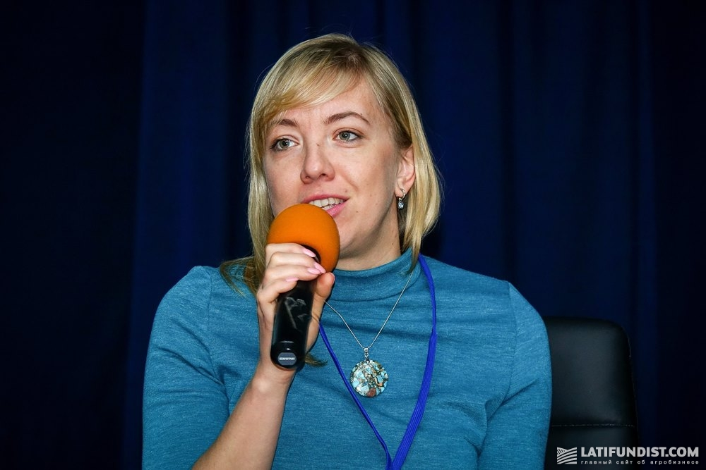 Алёна Федько, менеджер по организации мероприятий и проектов компании Syngenta