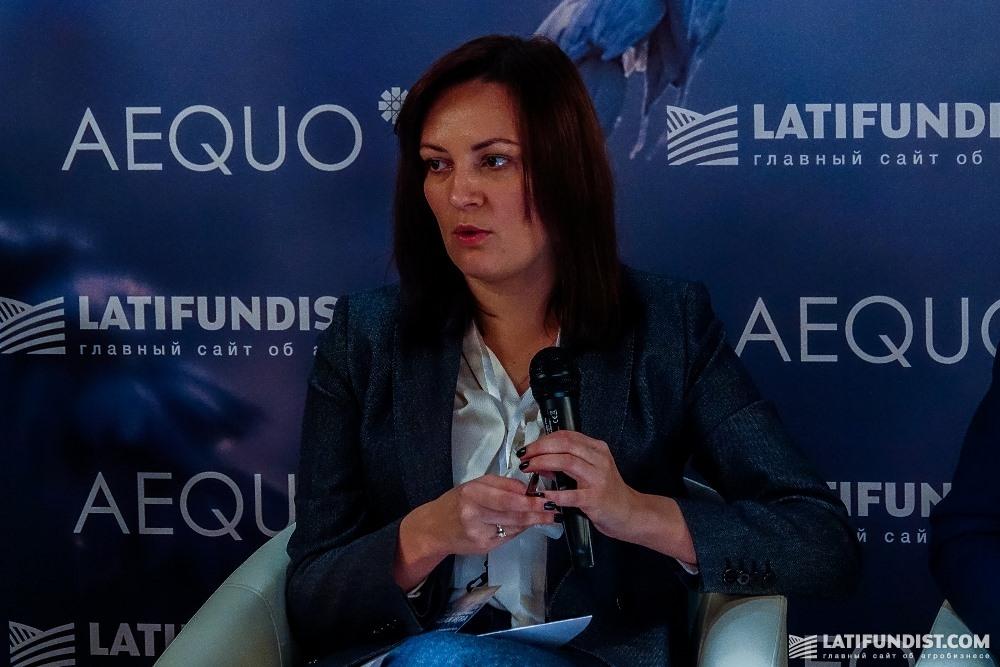 Юлия Ковалив, глава офиса Национального инвестиционного совета
