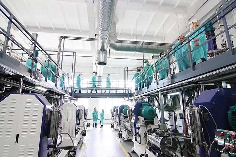 Цех по производству СЗР в форме концентратов суспензий