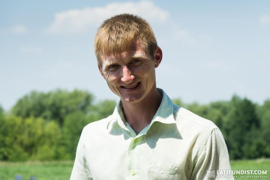 Артем Бовкун, директор фермерского хозяйства «Светлый путь АТС» (Уманский район Черкасской обл)