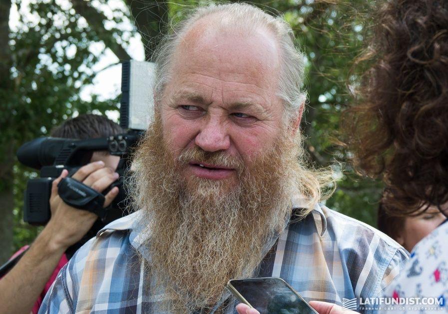 Алексей Дон, владелец органического фермерского хозяйства «А.П. Дон»