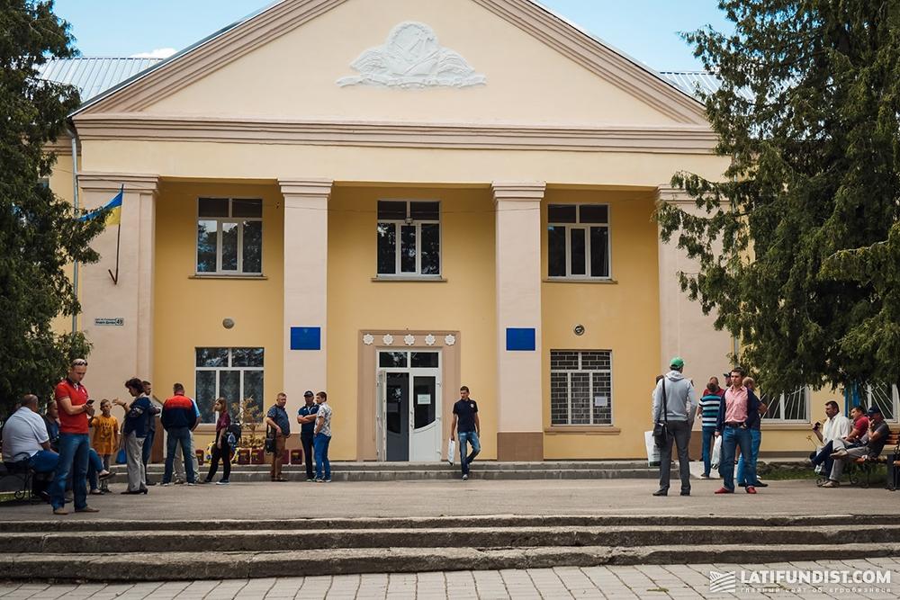 Дом культуры села Кищенцы