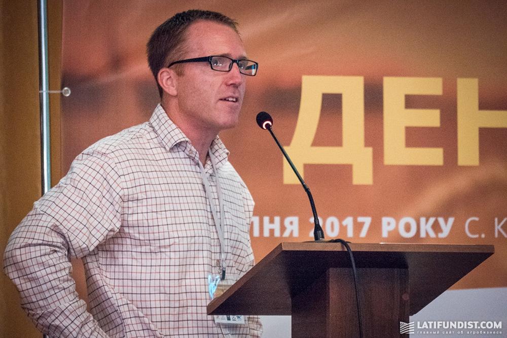 Ларс Ольсен, консультант по вопросам выращивания сельскохозяйственных культур компании BioNutria
