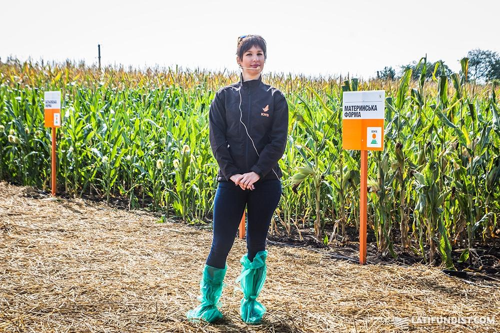 Ксения Мельникова, агроном-исследователь в производстве семян компании «КВС-УКРАИНА»