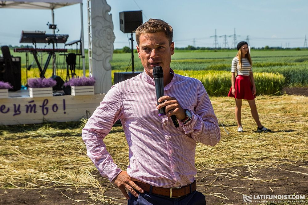 Оливье Буйе, генеральный директор Agritel International Франция