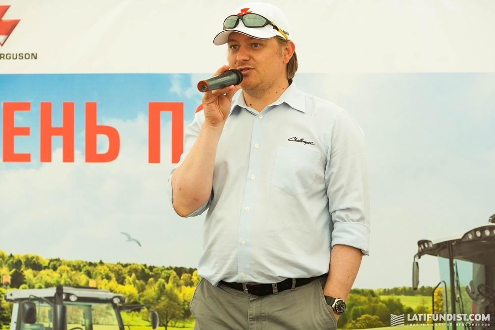 Сергей Лукьянец, руководитель направления почвообрабатывающей и посевной техники AGСO