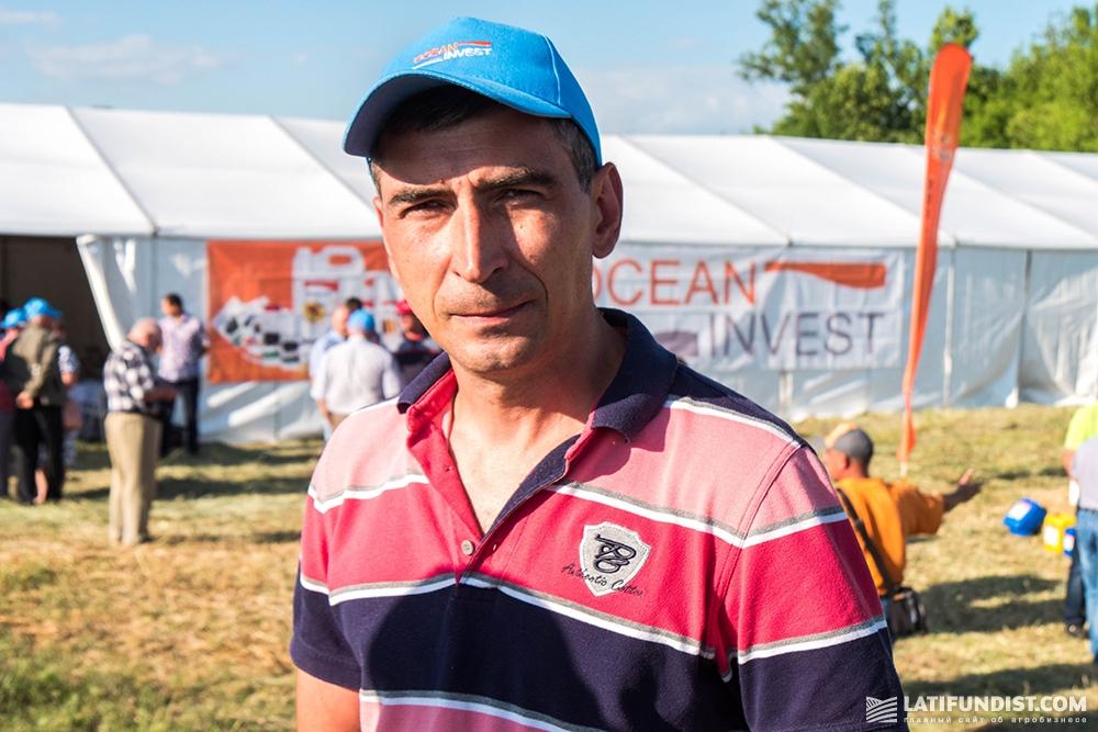 Александр Земляной, главный агроном агропредприятия «Богдан Хмельницкий»