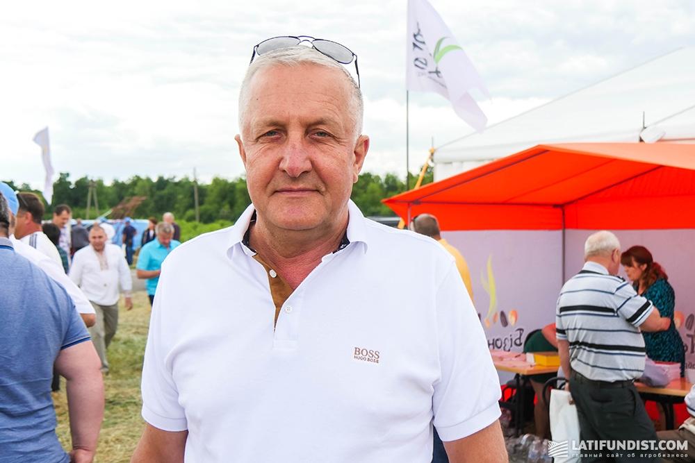 Владимир Вишневский,директор предприятия «Зразковое»