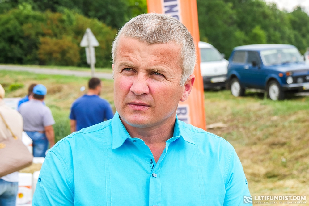 Анатолий Стецюн, директор хозяйства «40 лет-Агро»