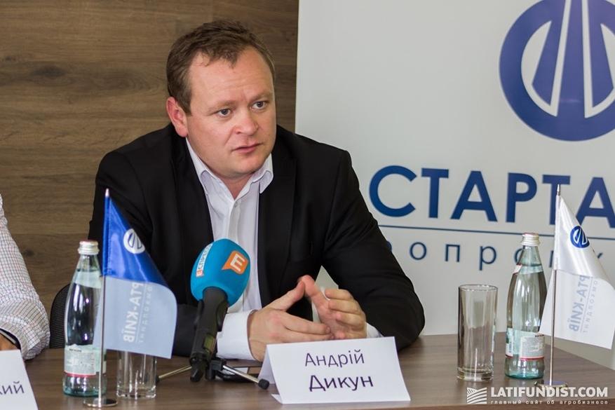 Андрей Дыкун, президент Ассоциации производителей молока, глава Всеукраинской Аграрной Рады