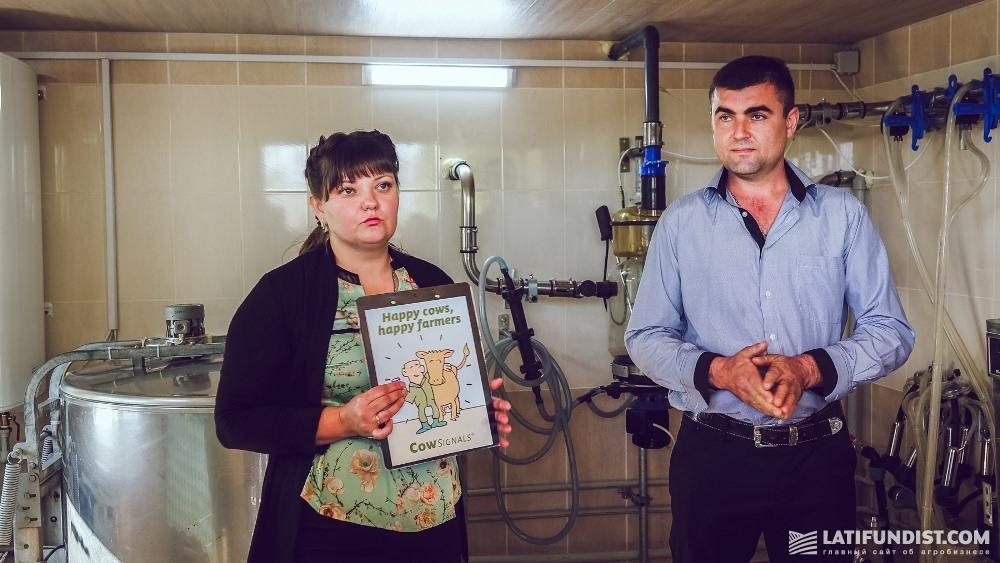 Наталья и Сергей Зиновские, владельцы фермы