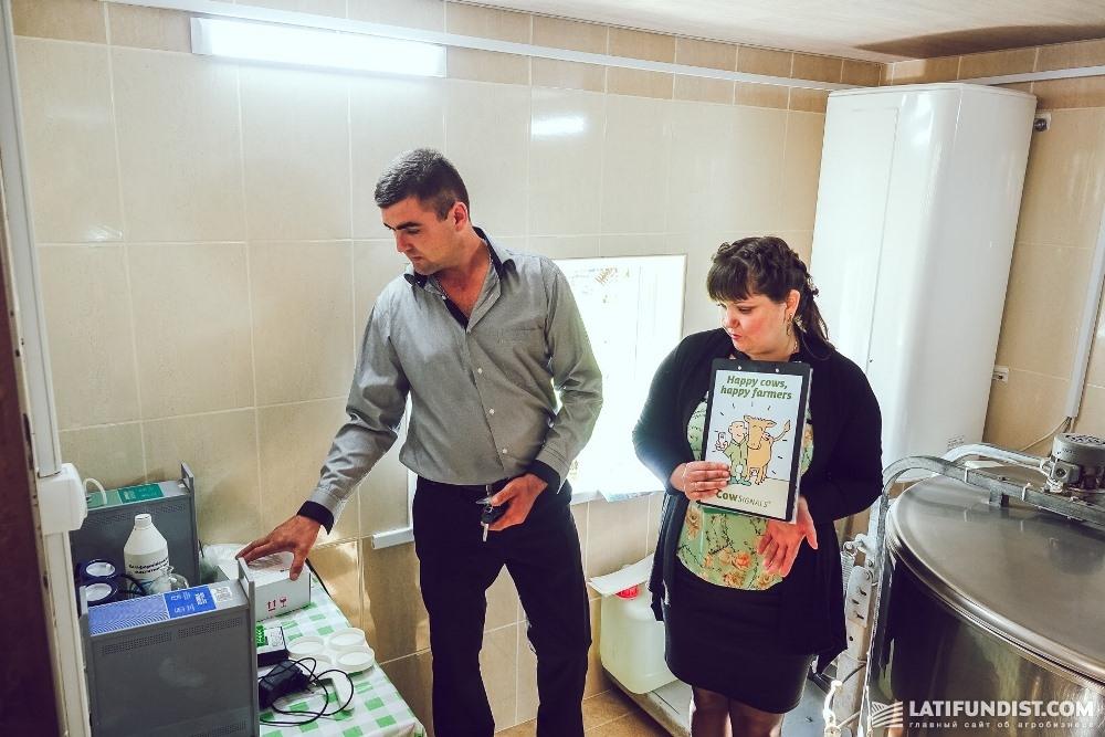 Наталья и Сергей показывают ферму