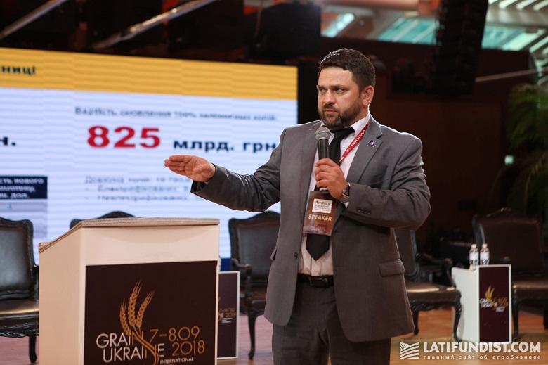 Андрей Рязанцев, директор по финансам и экономике «Укрзализныци»