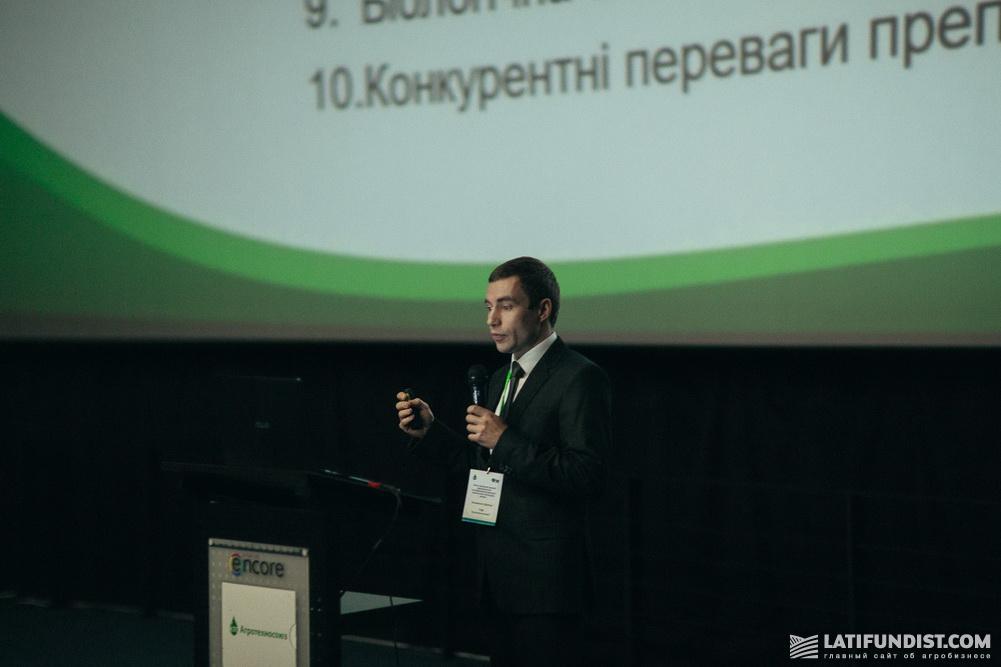 Дмитрий Козаренко, заместитель директора по развитию продуктов и маркетинга компании «Агротехносоюз»
