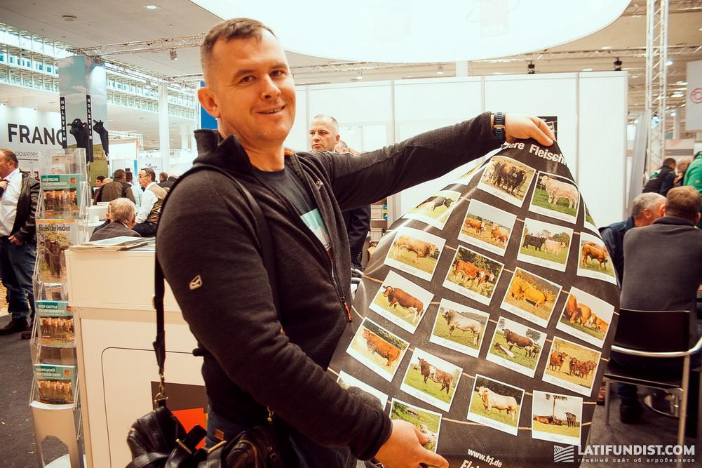 Михаил Травецкий, руководитель отдела животноводства компании «Астарта-Киев»