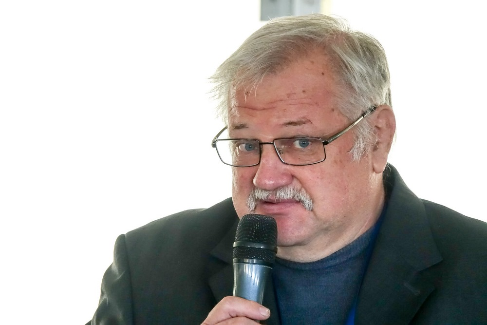Владимир Жуков, представитель Института кормов и сельского хозяйства Подолья НААН Украины, заведующий лабораторией технологии заготовки кормов