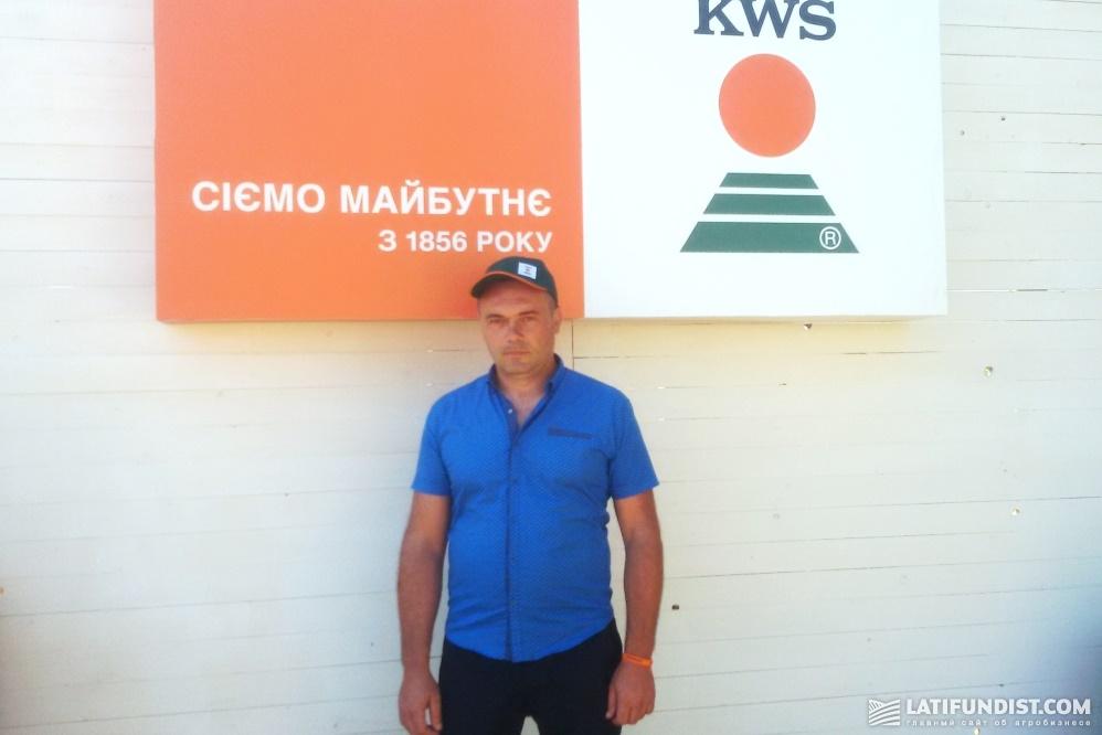 Игорь Тонкошкур, агроном сельхозпредприятия «Агро-Новоселовка 2009»