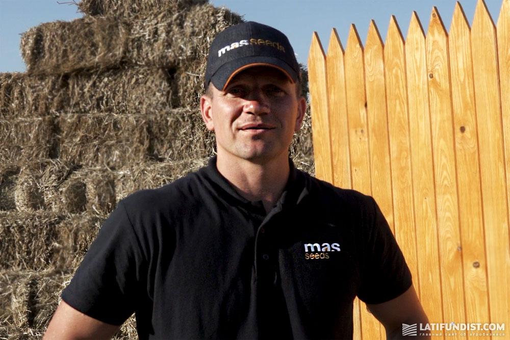 Михаил Гундорин, руководитель региона Южная Украина Mas Seeds