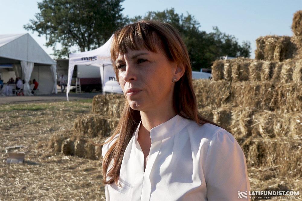 Марина Попова, коммерческий директор «Украинской аграрной компании»