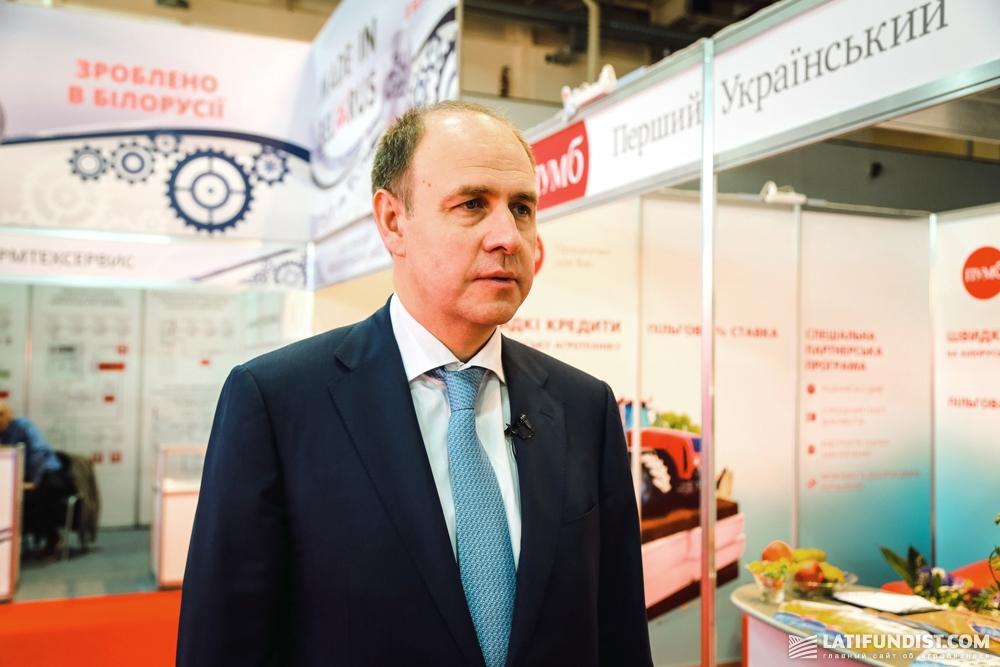 Алексей Волчков, заместитель председателя правления, член правления ПУМб