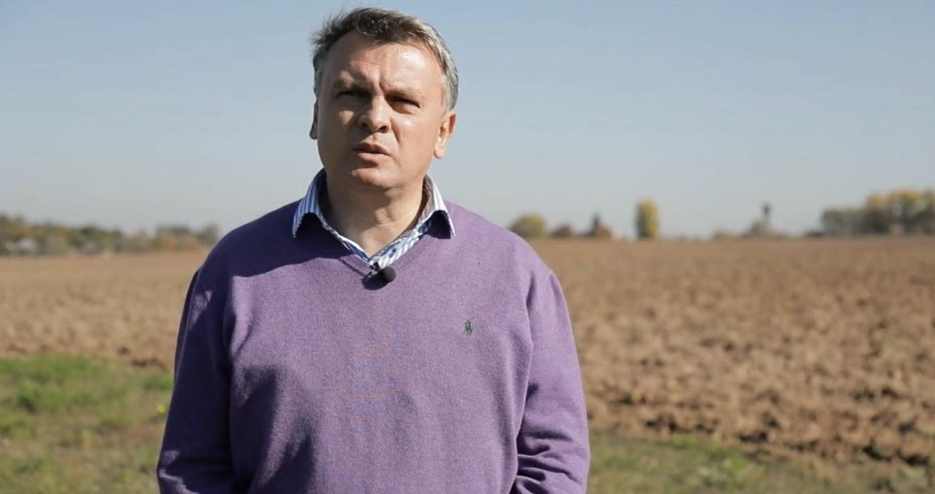 Валерий Парубочий, директор фермерского хозяйства «Парубоче»